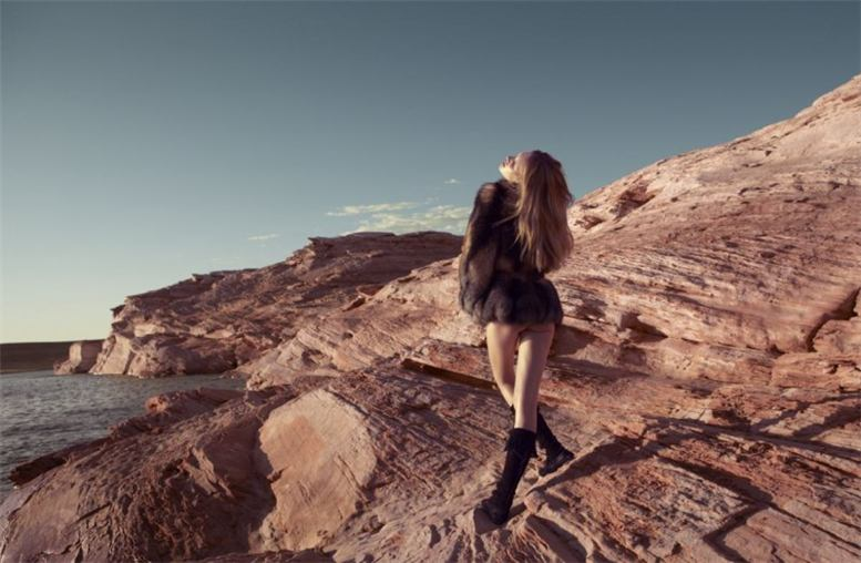 модель Ромина Ланаро / Romina Lanaro, фотограф Camilla Akrans