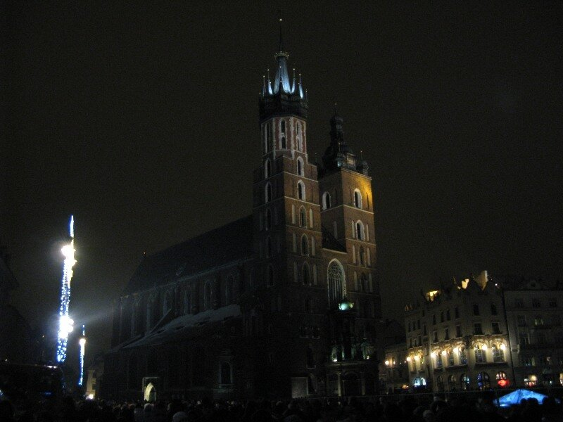 New year's eve in Kraków