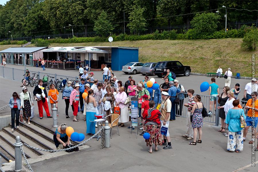 Круизный праздник в День работников морского и речного флота