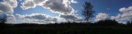 Облака (панорама из 9 кадров)