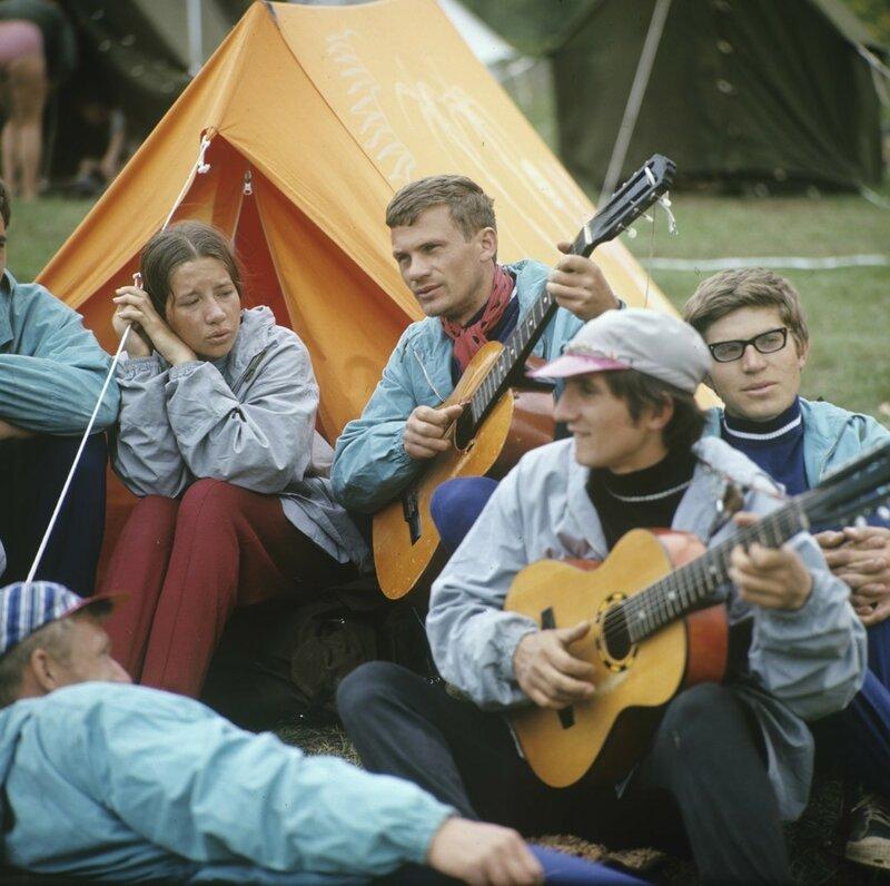 Туристы-каэспэшники, 1970-е
