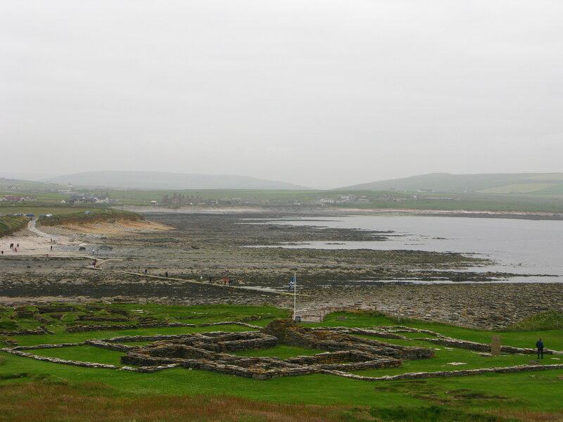 Остатки поселения викингов на Brough of Birsay
