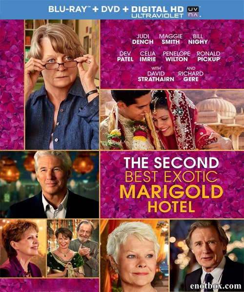 Отель «Мэриголд». Заселение продолжается / The Second Best Exotic Marigold Hotel (2015/BDRip/HDRip)