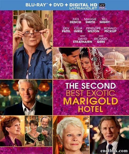 Отель «Мэриголд». Заселение продолжается / The Second Best Exotic Marigold Hotel (2015/BDRip/HDRip)