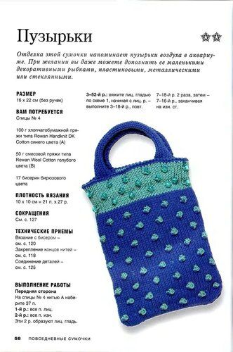 Вяжем сумки крючок модное вязание ниола 23