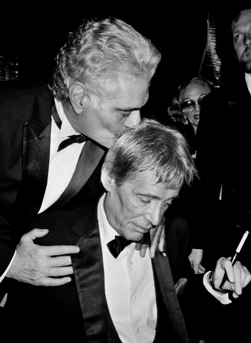 Omar Sharif and Peter O'Toole sharing a tender moment..png