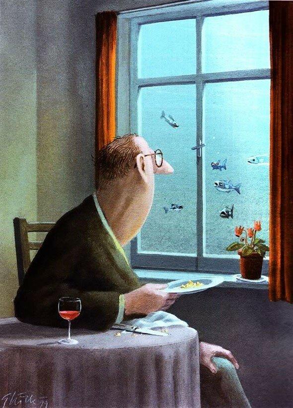 Герхард Глюк – «Андре охотно покормил бы рыбок, но опасался последствий»