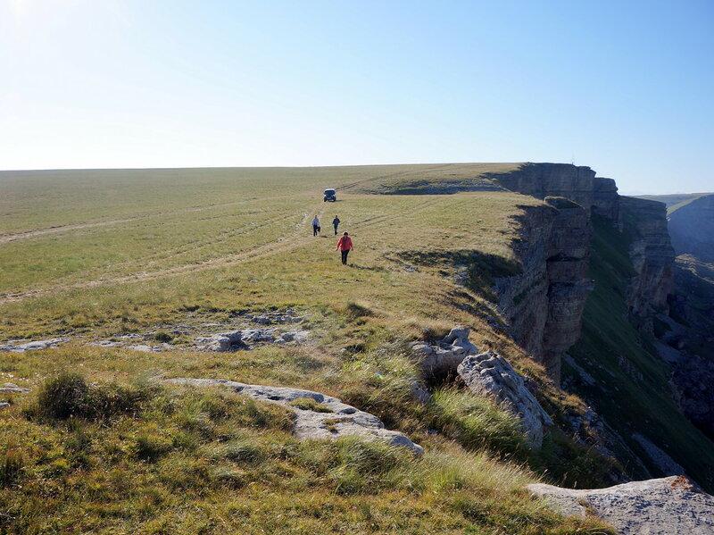 Прогулка по плато Большого Бермамыта