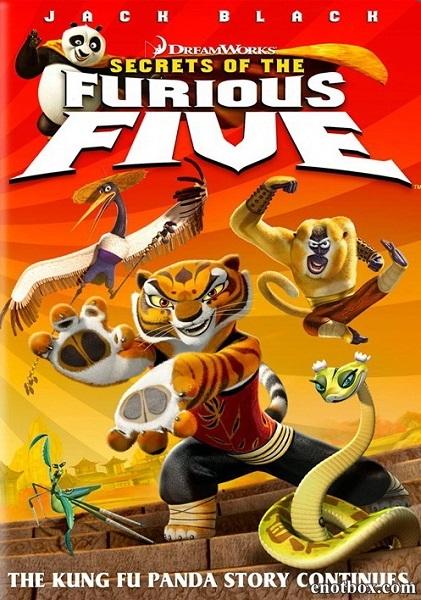 Кунг-фу Панда: Секреты неистовой пятерки / Kung Fu Panda: Secrets of the Furious Five (2008/WEB-DL/DVDRip)