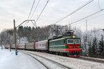 Электровоз ЧС2-794 с поездом №604 Соликамск - Екатеринбург