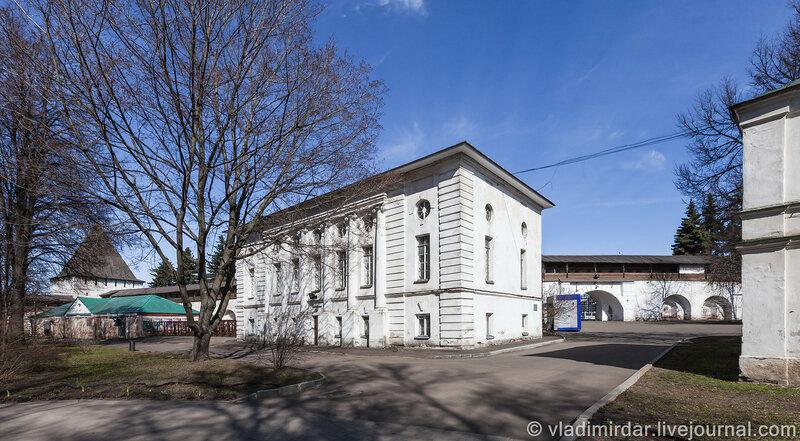 Ризница. Спасо-Преображенский монастырь. Ярославль.