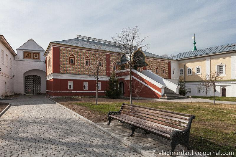 Палаты бояр Романовых (XVI-XIX вв.). Ипатьевский монастырь. Кострома.