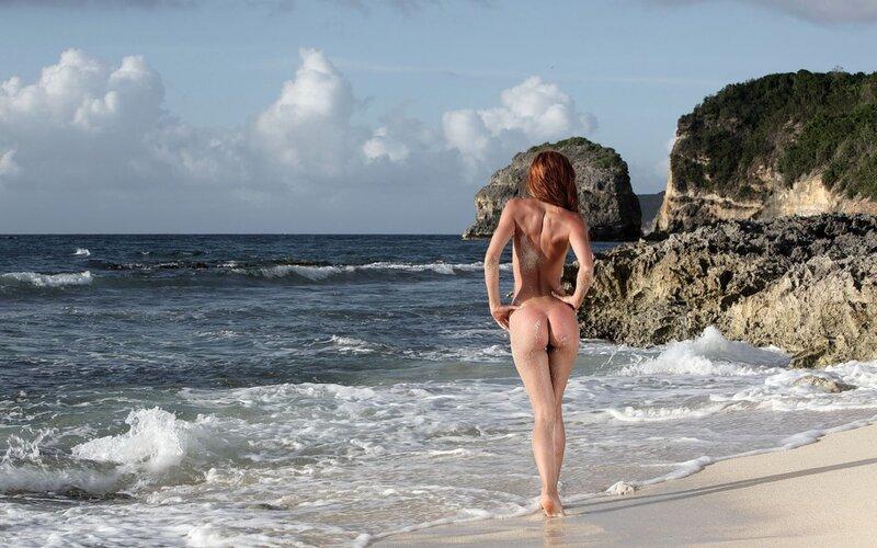 эротические фотографии на море