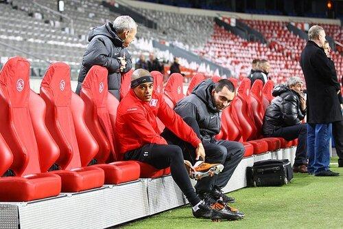 Пресс-конференция и тренировка «Спартака» перед матчем с «Аяксом» 09-03-2011