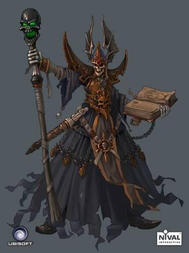 Лич вселенной Heroes of Migt and Magic V