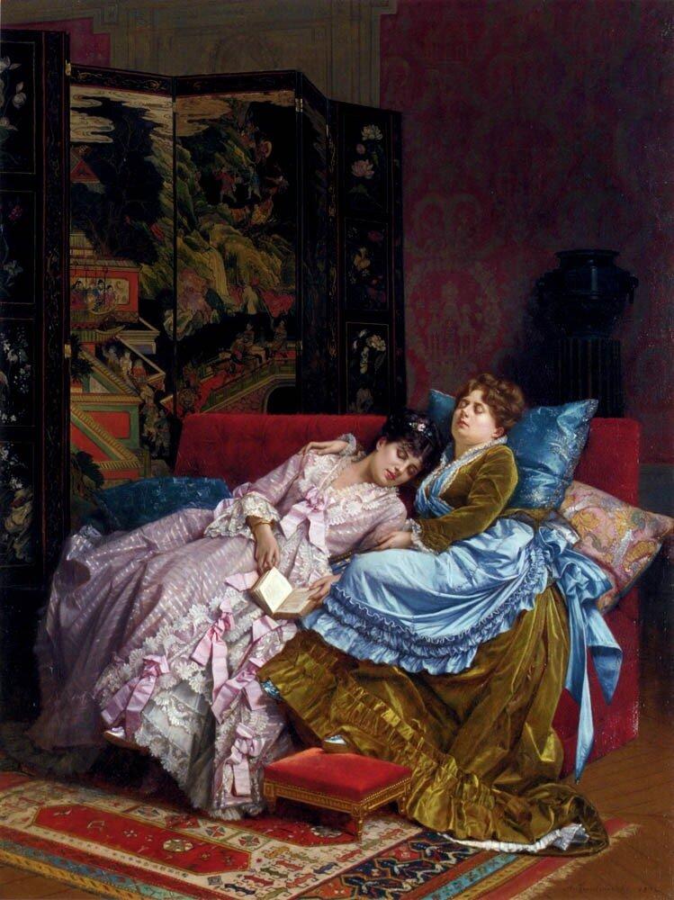 Классическая живопись. Sophie Anderson (1823-1903)