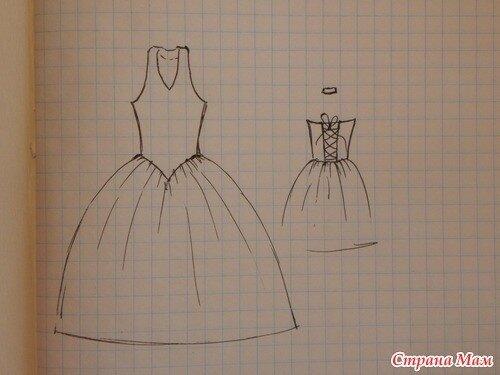 платья макси с драпировкой выкройка.