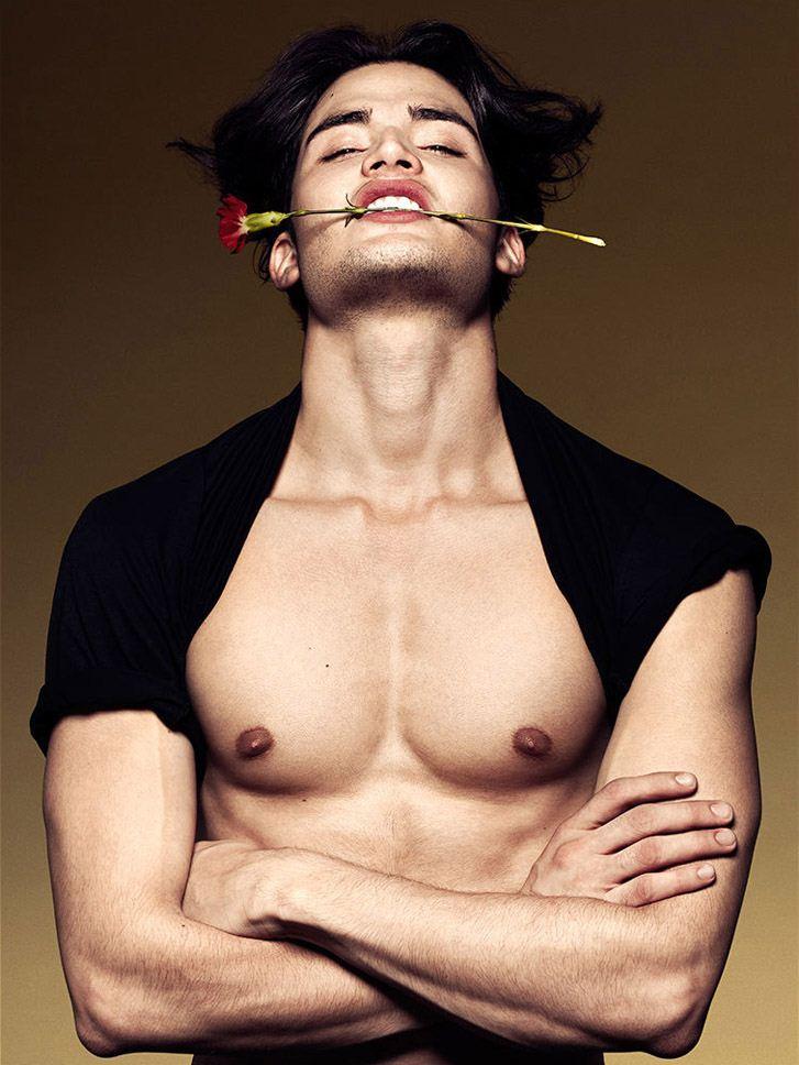 модель Андрес Матиз / Andres Matiz, фотограф Richard Pier Petit