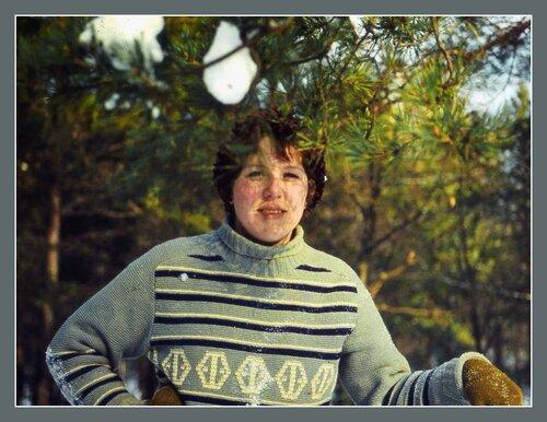 Я на лыжах 1979 год