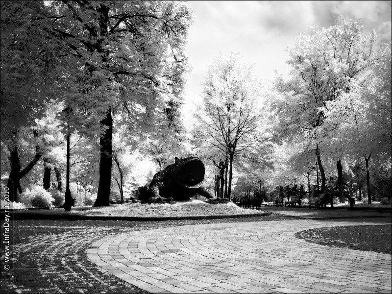 Крещатый и Мариинский парки