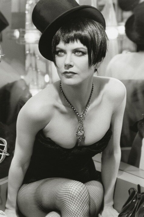 Photographer Herb Ritts.Nicole Kidman, Moulin Rouge
