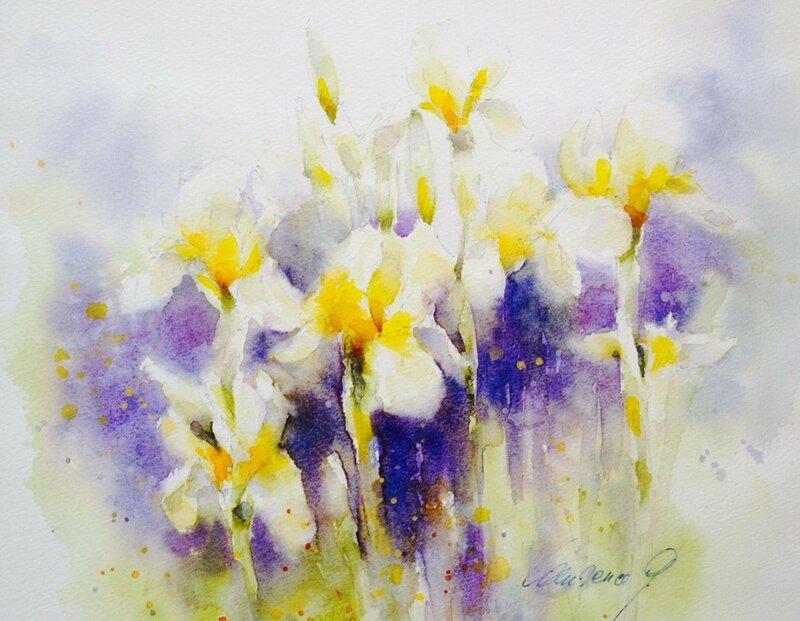 Семь красок у весны, и каждая прекрасно напишет на земле роман свой с ручейком