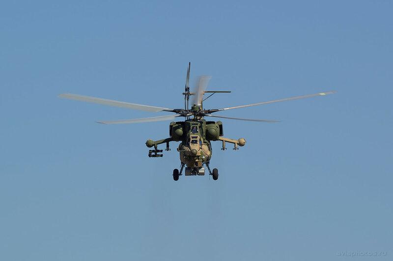 Миль Ми-28Н (210 синий) Пилотажная группа