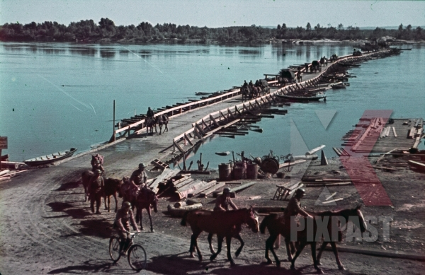 stock-photo-ww2-color-german-cavalry-troops-cross-wooden-pioneer-war-bridge-krakov-1941-ukraine-7962.jpg