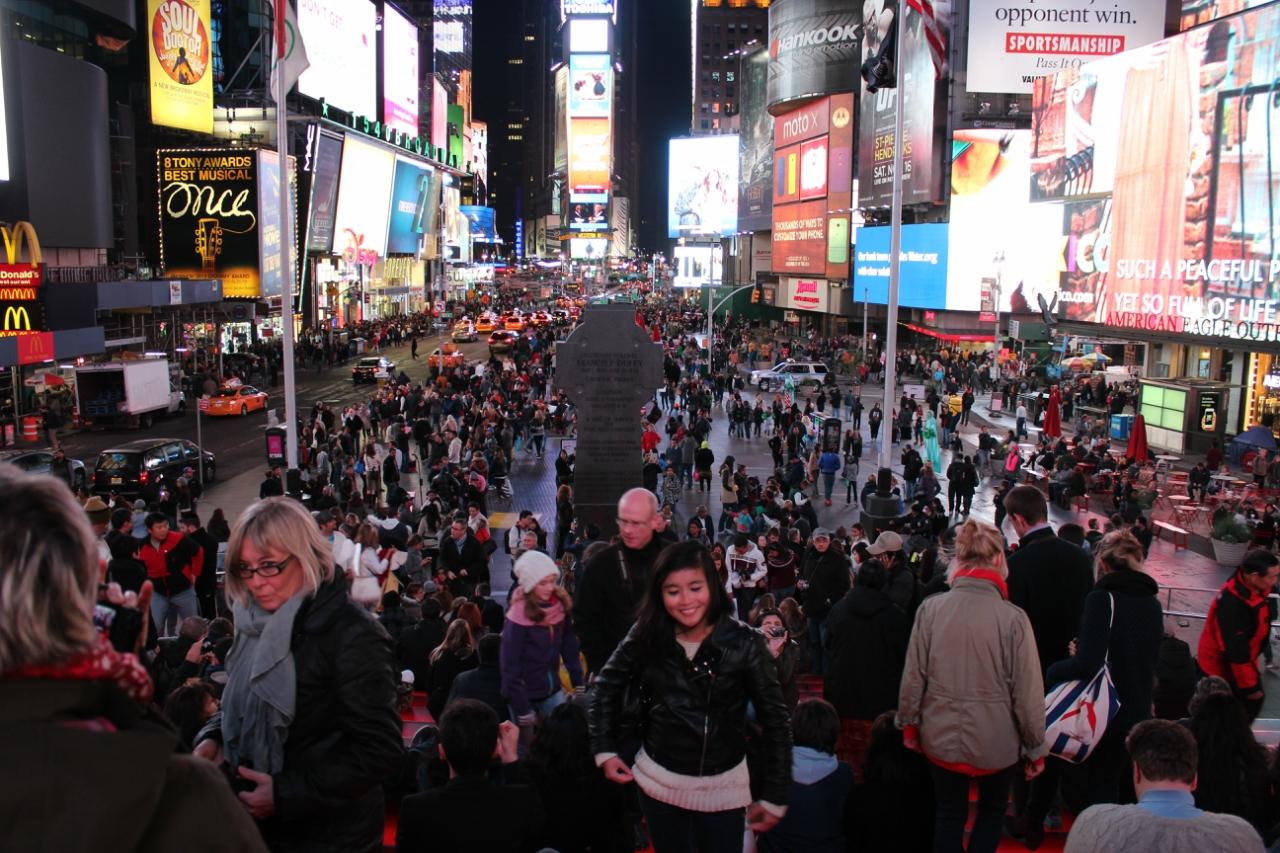 Ночной Нью-Йорк (мир глазами дочери)
