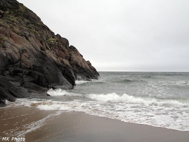 Неспокойно синее море
