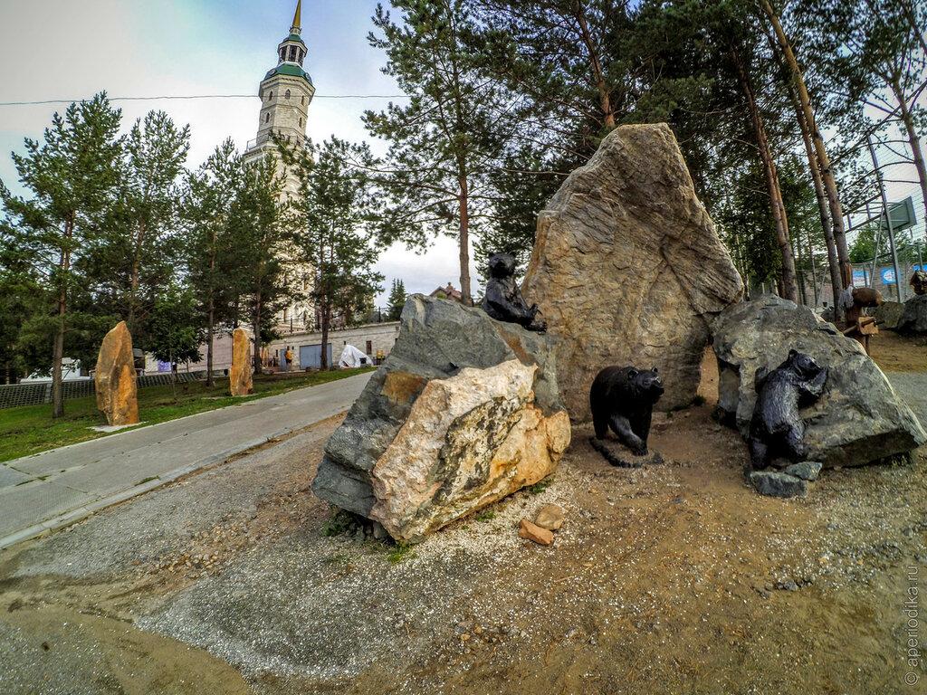 Парки города Златоуста