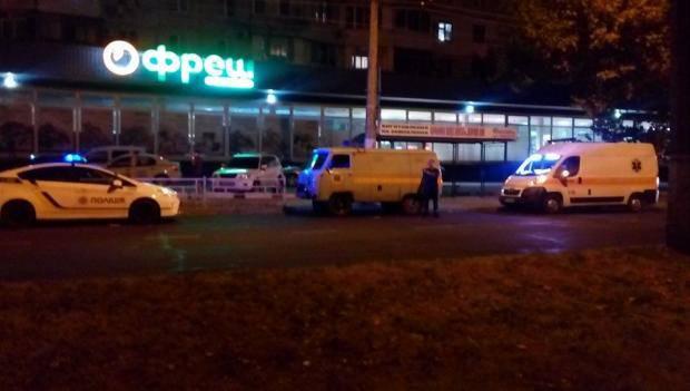 В Херсоне злоумышленники пытались взорвать отделение банка