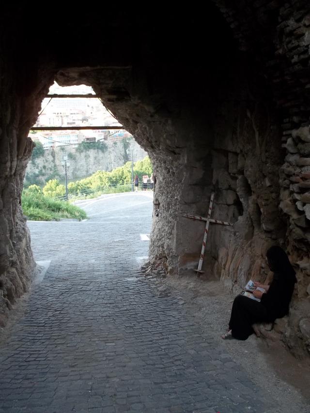 Древняя крепость НАРИКАЛА в Тбилиси (6)