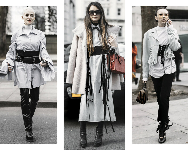 DISTRICT F - LONDON FASHION WEEK STREET STYLE 2