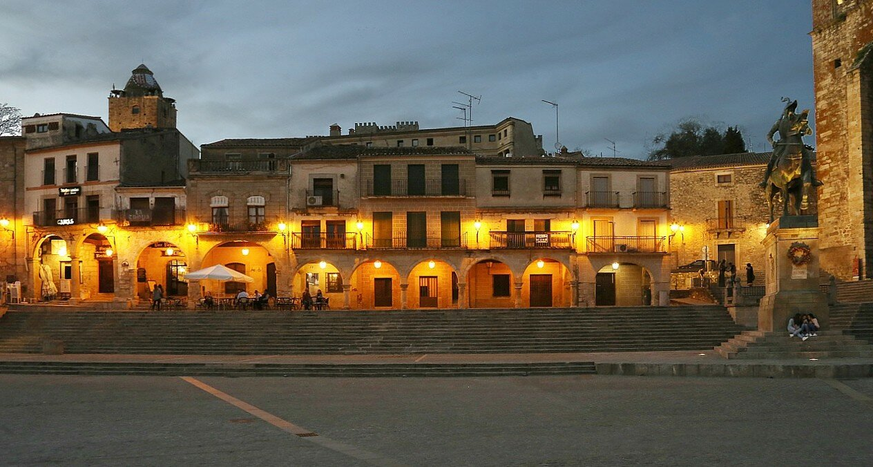 Trujillo. March evening