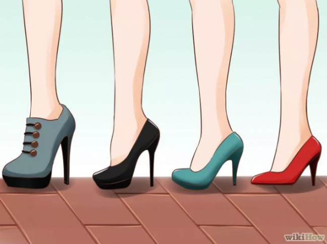 10 хитростей для безупречной походки на каблуках (11 фото)