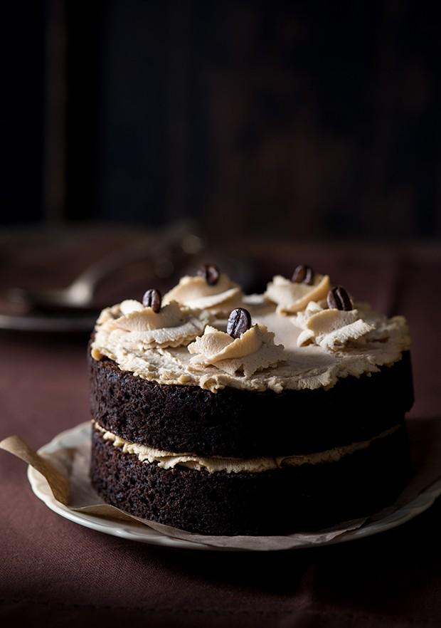 2. Шоколадный торт эспрессо.