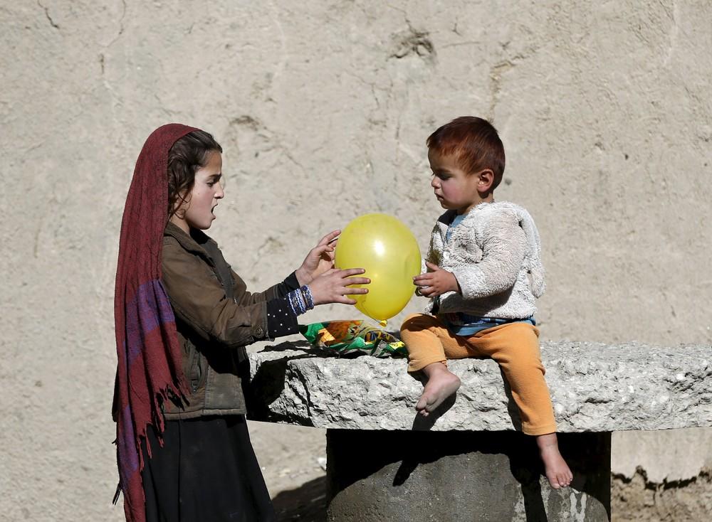 Кадры повседневной жизни в Афганистане