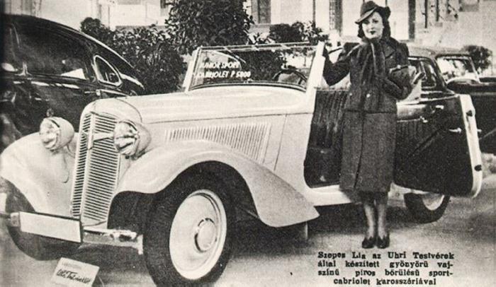 История этого автомобиля началась в начале 30-х годов. Фирма Adlerwerke из Франкфурта-на-Майне была