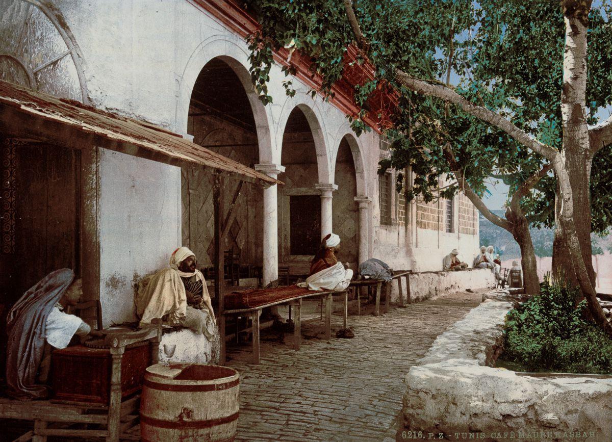 Мавританское кафе.