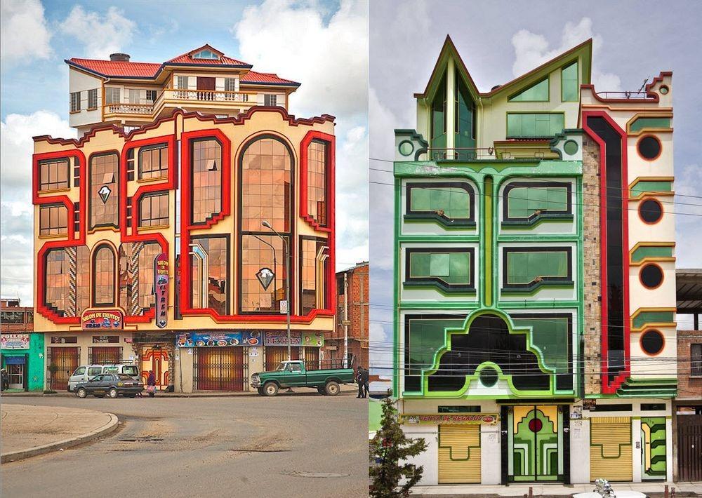 Во главе этой местечковой архитектурной революции — архитектор-самоучка Фредди Мамани Сильвестре, чь