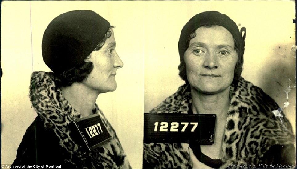 На фото: мадам Лилиан Браун (Ида Кац) – одна из трех самых влиятельных владелец борделя в то в