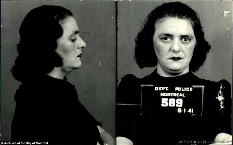 На фото: Энни Паркер, арестована в 1941 году. Еще раз стоит уточнить, что 1930-е – это время В