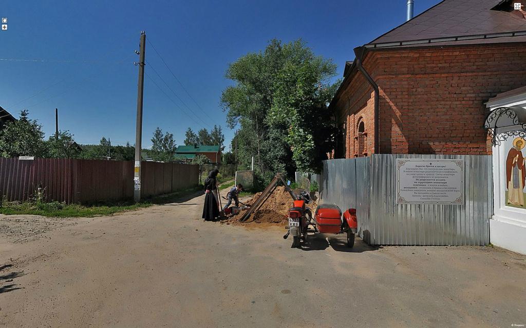 Село Спас, округ Калуга.