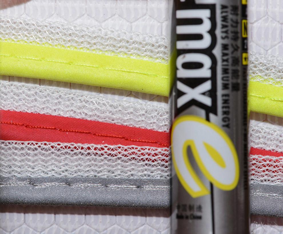 14. В качестве светоотражающего материала используются те же шарики, только соответствующего цвета: