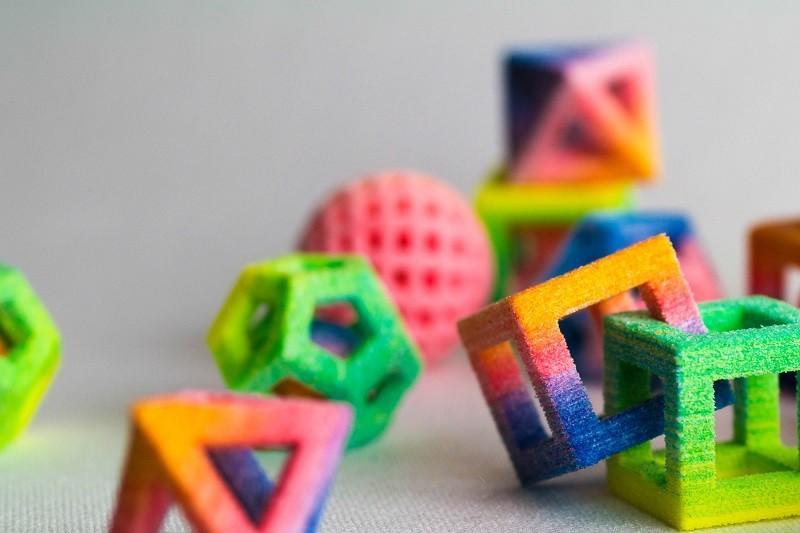 2. Неоновые сахарные кубики.