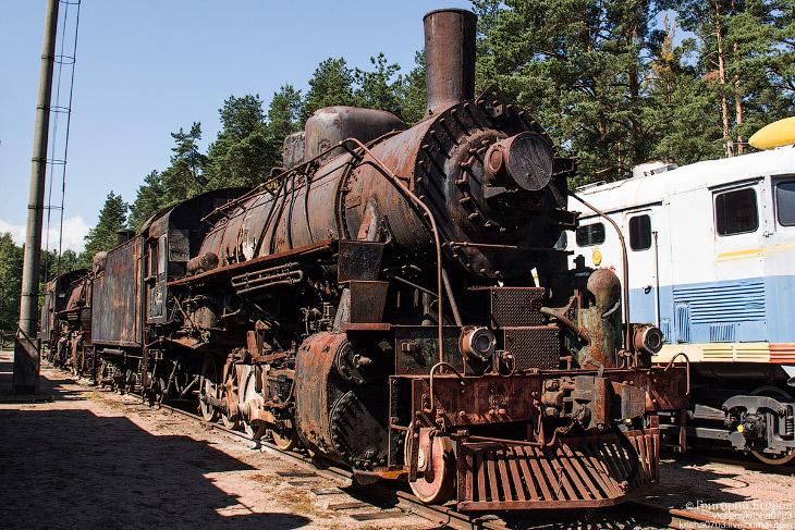 База железнодорожной техники Лебяжье (33 фото)