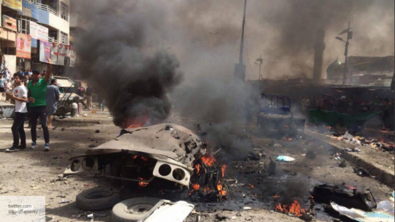 Размещено видео теракта вБагдаде