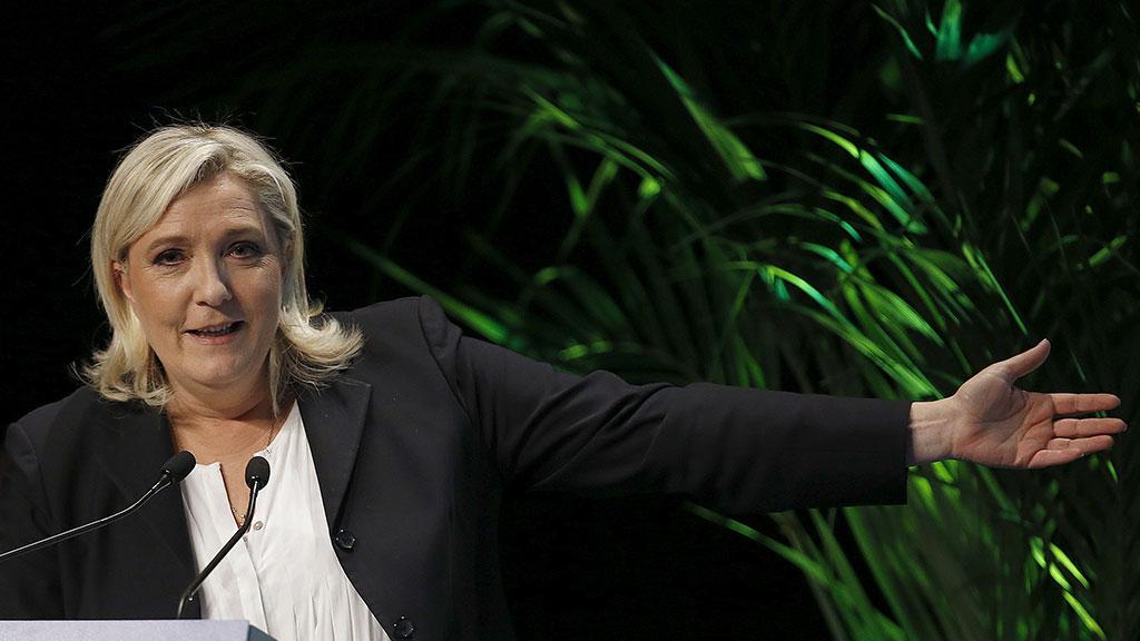 Марин ЛеПен предложила освободиться отевро
