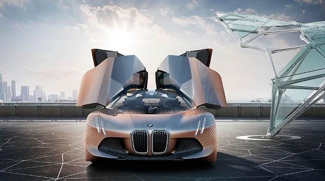 Компания БМВ выпустит на100% беспилотный автомобиль